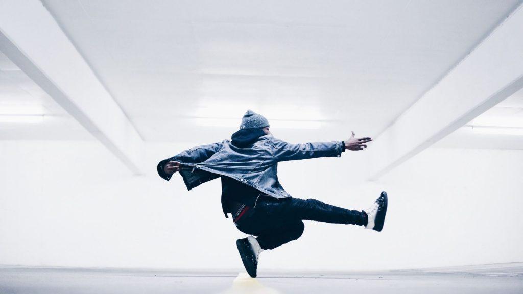 TikTok branding strategies dancing man