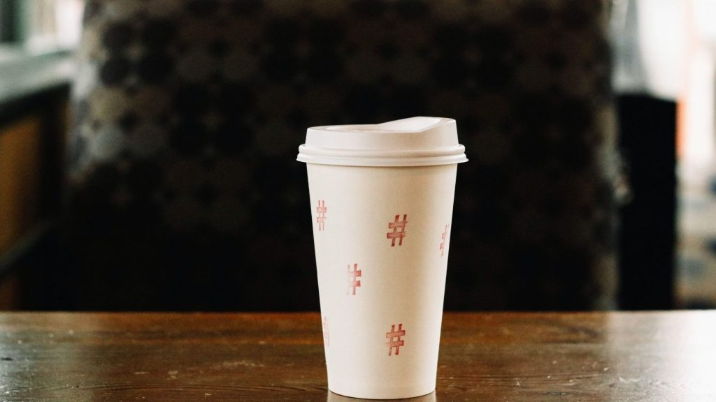 TikTok Branding Strategies hashtag cup
