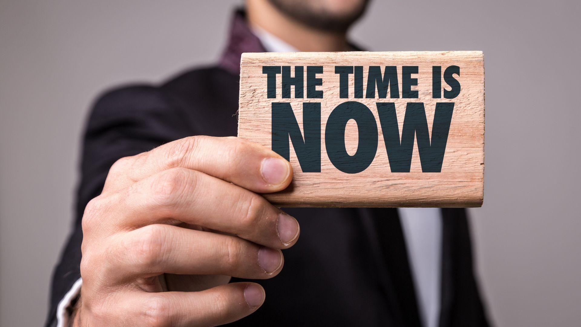 TikTok time is now