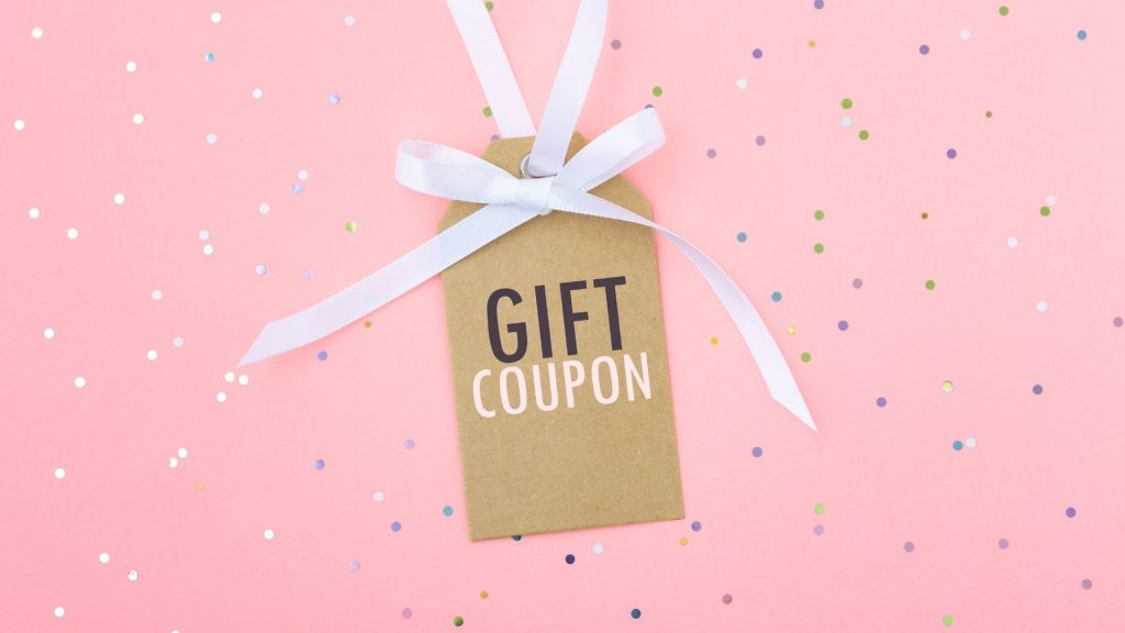 Influencer campaigns gift coupon