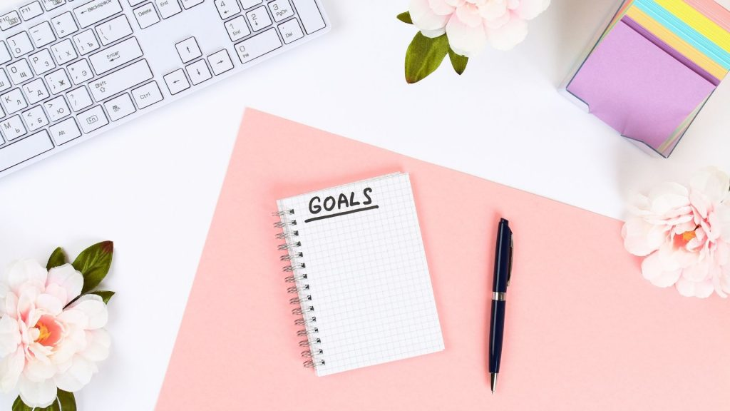 TikTok Goals on paper